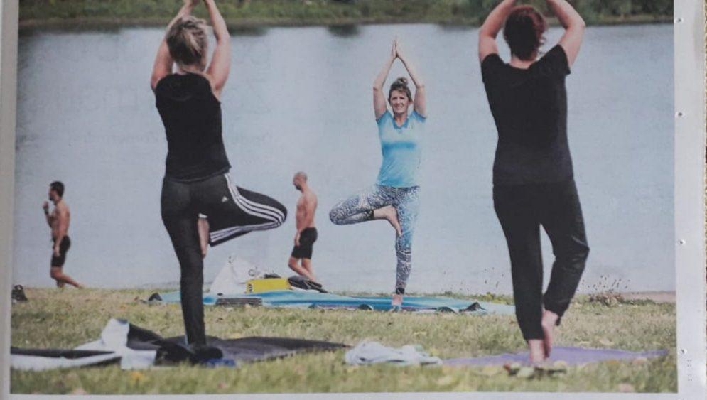 BUITEN!Yoga bij Carina